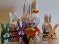 Fig11-13: 3D origami Nyúl család
