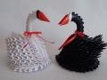 Fig30: 3D origami Hattyúpár