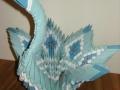 Fig25: 3D origami Kék hattyú