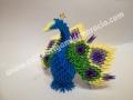 Fig33: 3D origami Páva
