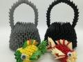 Fig70:3D origami Bogrács Hallal