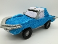 Fig84:3d origami Chevrolet