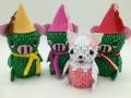 Fig 93: 3d origami Mazsola és Tádé
