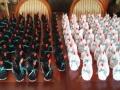 H7.Fehér-fekete origami hattyú vendégajándéknak