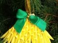 K22.sz 3d origami harang karácsonyfadísz kicsi
