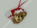 K 57 sz. 3d origami macis karácsonyfa dísz