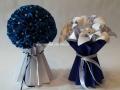 K-F1.2.sz Liliom és vénusz csokor vázával