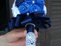Mcs56.sz Menyasszonyi csokor Szatén rózsából,