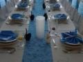 Kék esküvő HATTYÚKKAL