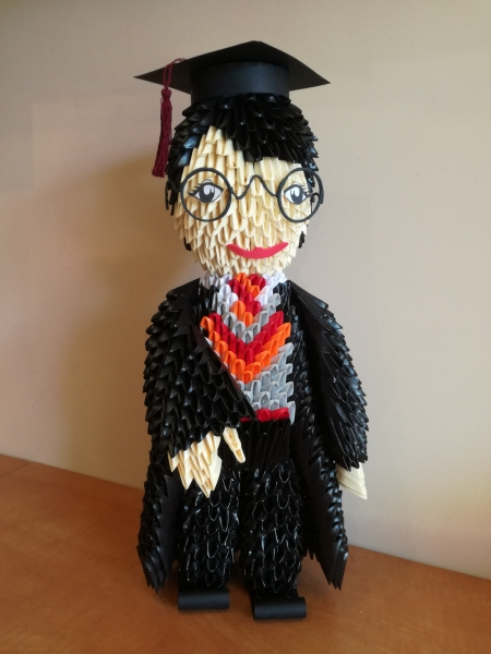 Fig29: 3D origami Harry Potter