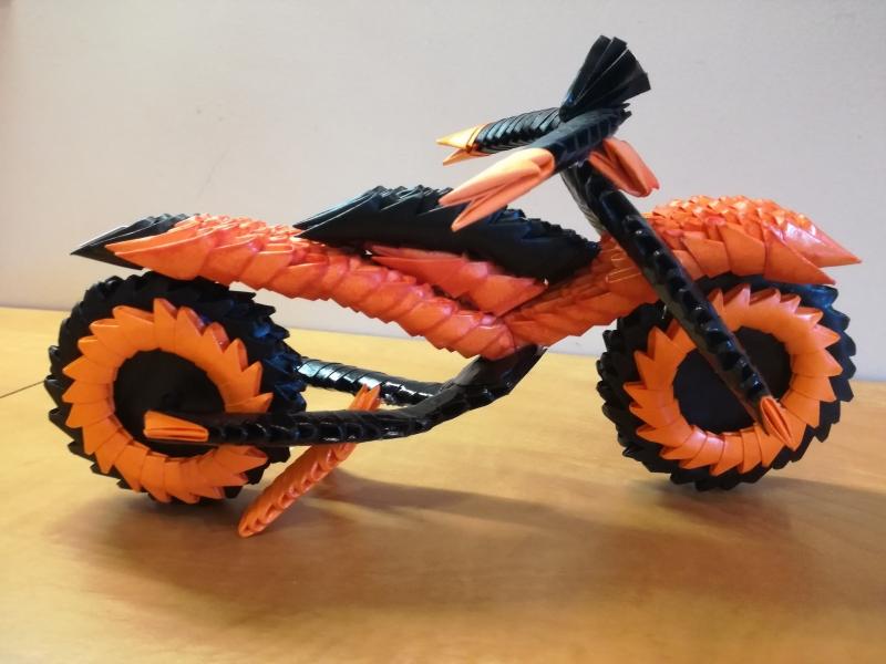 Fig21: 3D origami Motor