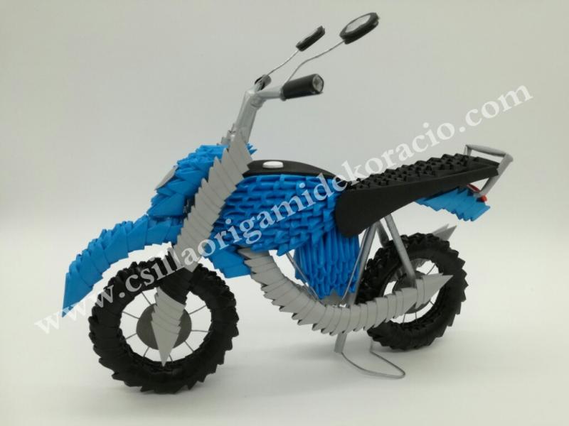Fig82:3d origami Motor fénykép alapján