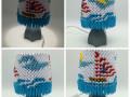 Fig.113. Lámpa 3d origami búrával