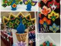 Fig:211.sz 3d origami Pávás variációim
