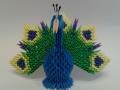 Fig20: 3D origami Páva