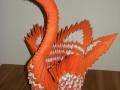Fig26: 3D origami Narancssárga hattyú