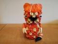 Fig:36: 3D origami Tigris