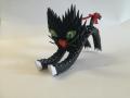 Fig38:3D origami nyújtózkodó Cica