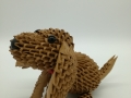 Fig63:3D origami Kutya