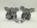 Fig3: 3D origami Elefánt