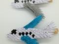 Fig 90:3d Origami csipeszes repülő