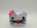 Fig.198.sz. 3d origami Hello Kitty tartó