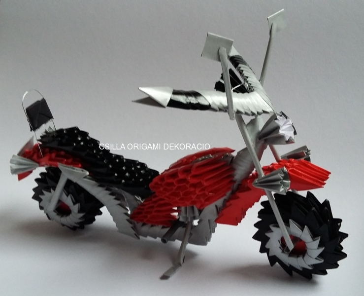 A15. 3D origami motor