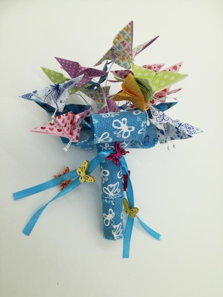 B.8.sz Pillangós ballagási csokor
