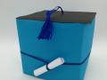 B.6.sz 3D origami focilabda ballagásra dobozzal