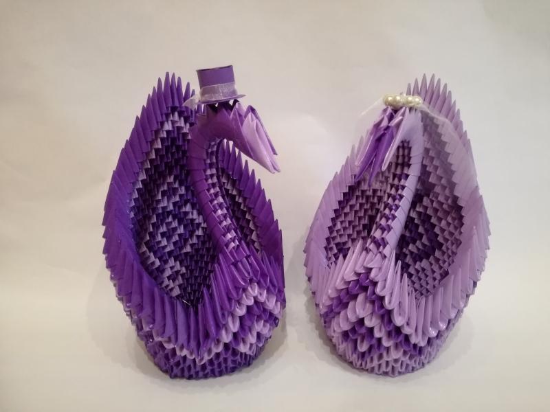 H15. sz Origami hattyúpár vlila-slila