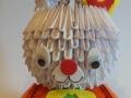 H 2. 3d origami Nyuszi lány