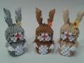 H 3. 3d origami Nyuszi