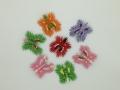H 9. 3d origami pillangó hűtőmágnes