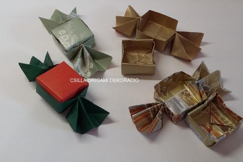 K24.sz Szaloncukor formájú ajándékdoboz