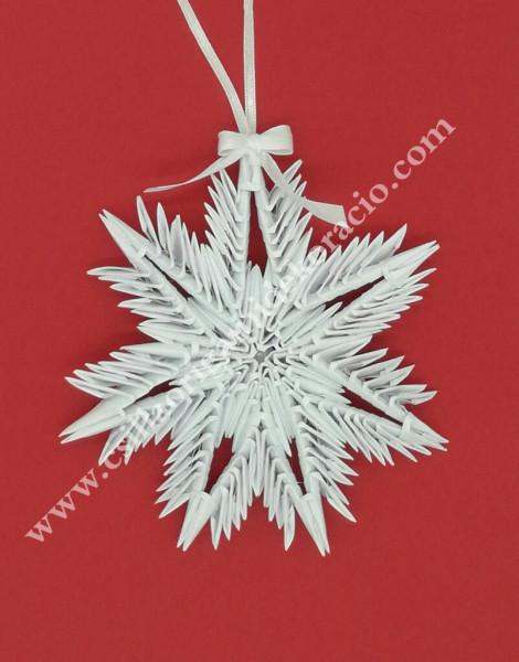 K 56. sz 3d origami hópihe ablak dísz
