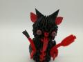 K 58sz.  3d origami Krampusz
