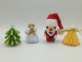 Térbeli karácsonyfadíszek