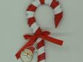 K 67. sz Cukorbot karácsonyfadísz