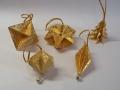Kd4.sz. Arany színű karácsonyfadíszek