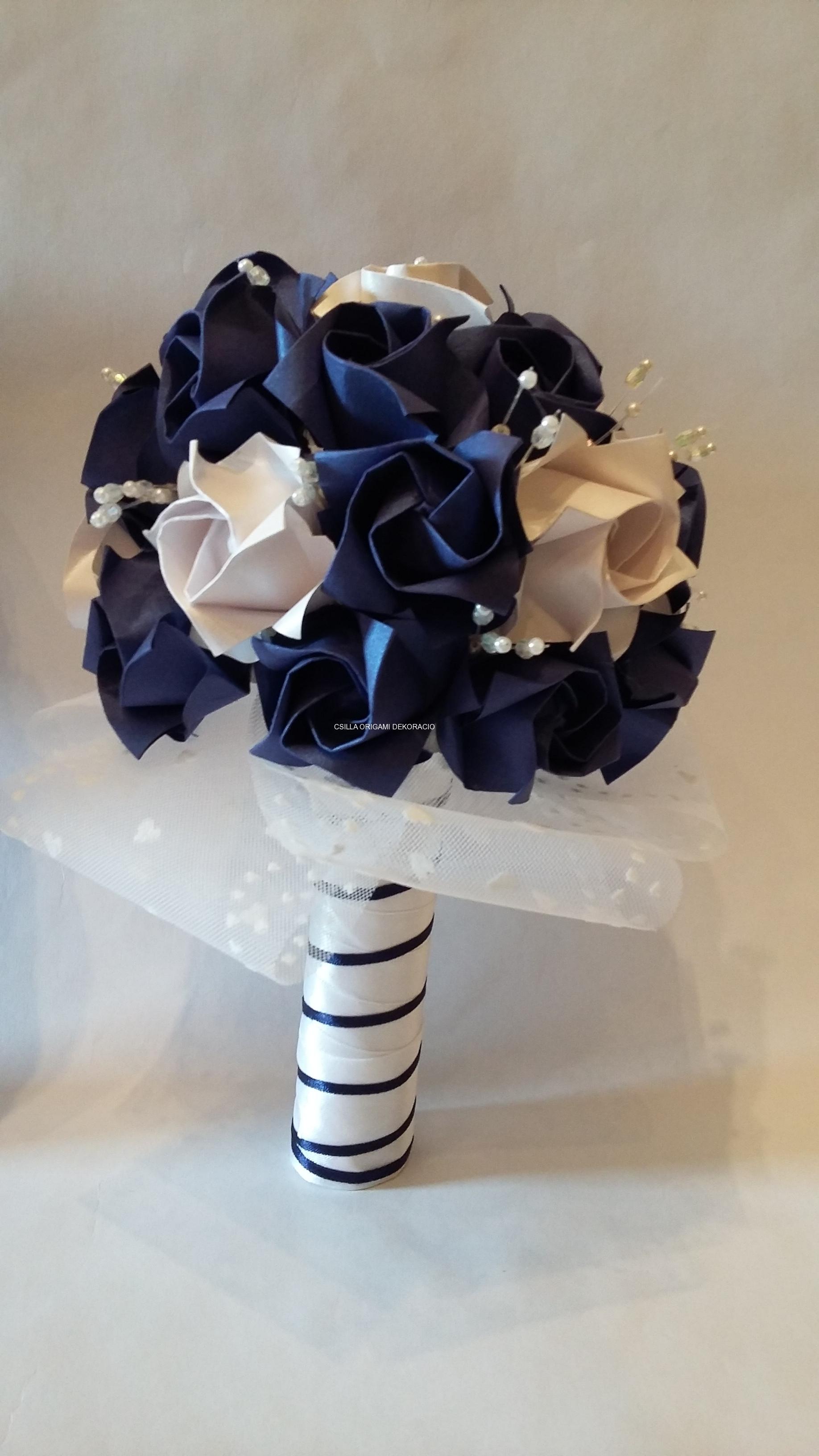 K-F16.sz Menyasszonyi csokor