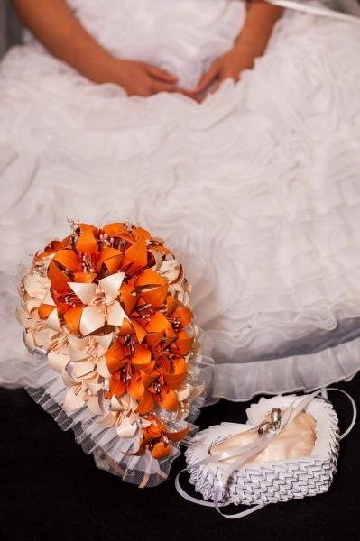 Mcs.37.sz Liliom menyasszonyi csokor