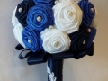 Mcs.31.sz Menyasszonyi csokor szatén rózsából