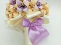 Mcs50.sz. Barack-lila Menyasszonyi liliomos csokor