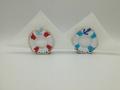 Ny.3. 3d origami szalvétatartó mentőöv