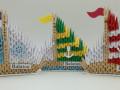 Ny.2. 3d origami  Kétoldalas kis vitorlás