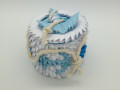 Ny.13.3d origami doboz horgonyos