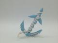 Ny.16. 3d origami Horgonyos álló  kétoldalas dísz