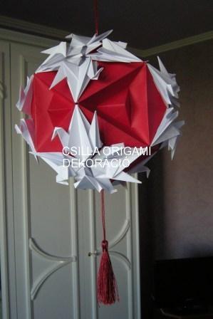 G14.sz.Darus origami gömb