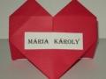 Ü3.Origami szíves ültető kártya