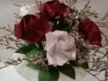 V.6. Rózsa rezgővel csokorba kötve